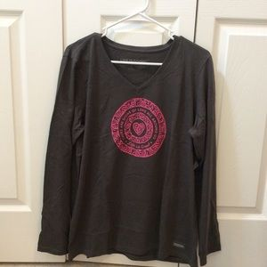 Life is Good NWT Long Sleeved Tee